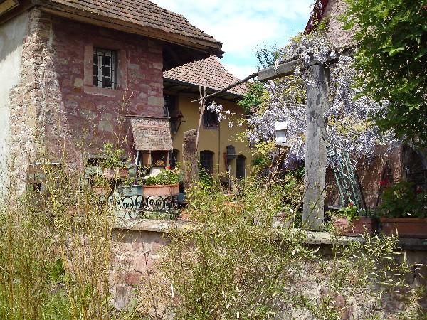 Maison médiéval Orguelstubel en face à 20 mètres